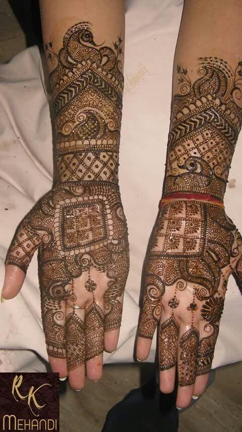 Mehndi Henna On Hair : Images about hair style mehndi on pinterest