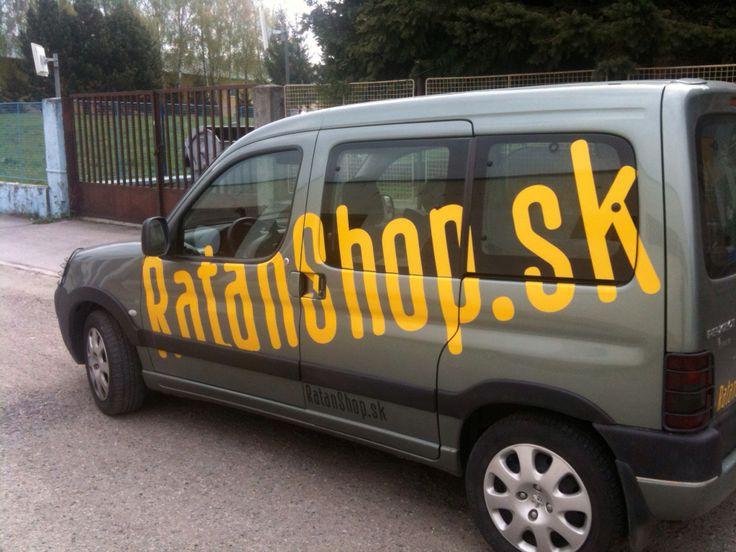Polep auta Ratanshop.sk