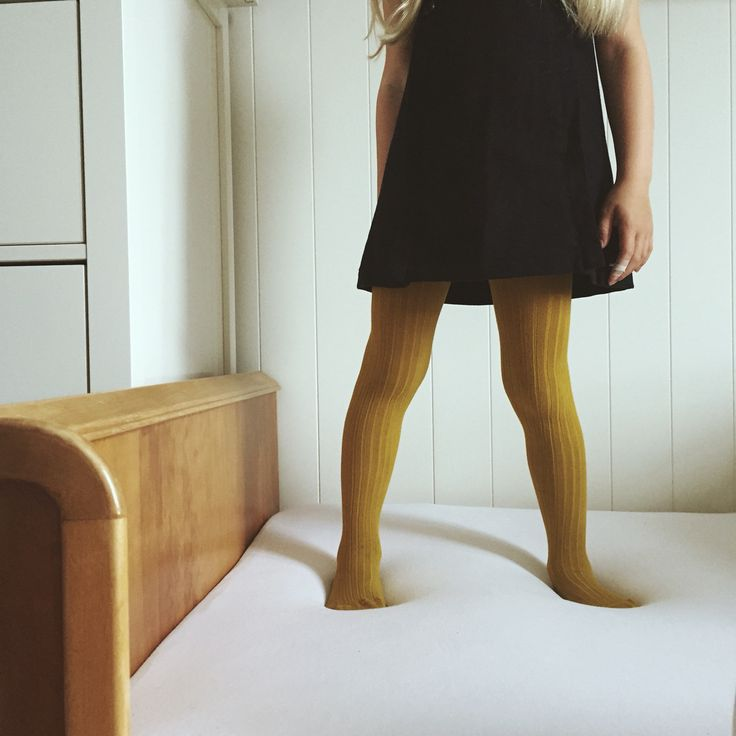 Ministrikk looks AW 15. Our Curry ribbed tights styled with Jacadi wool dress. A styling by Charlottpettersen.no for Ministrikk.no.