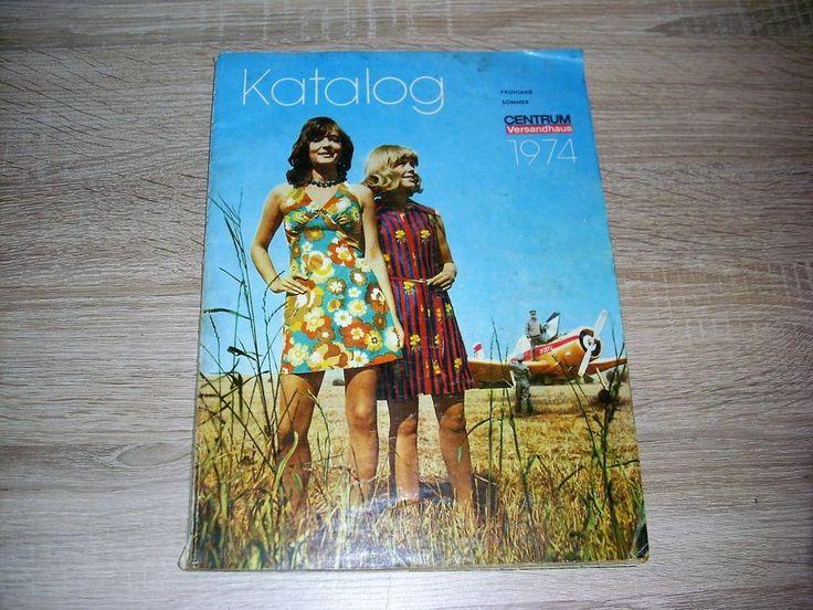 Ddr Centrum Versandhaus Katalog 1974 Fruhling Sommer Ostalgie Fruhling Antik