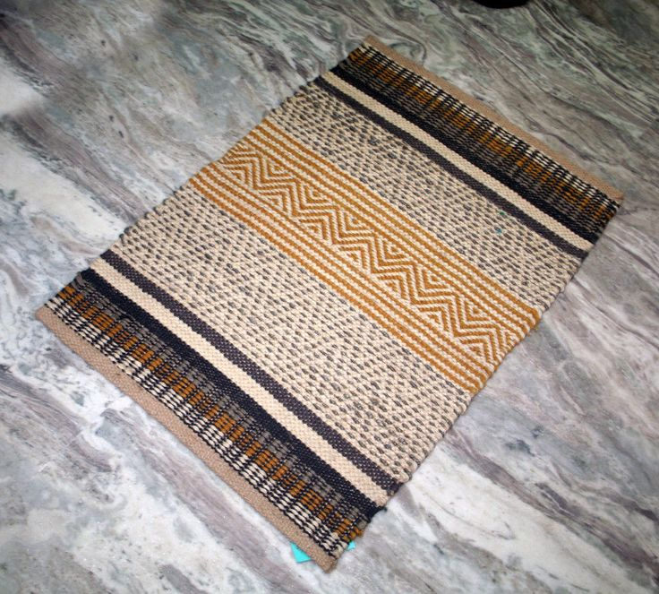 2'x3'Feet Turkish Kilim Rug Boho Small Yoga Mat Kitchen Mat Jute Door Mat  #Handmade #DoorMat