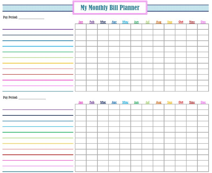 Best 25+ Bill Planner Ideas On Pinterest | Bill Organization, Bill