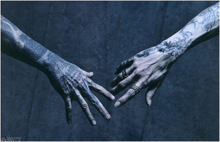 Kyo hand tattoo [Left]
