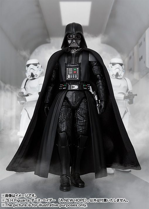 Star Wars: A New Hope Darth Vader SH Figuarts! | Serpentor's Lair