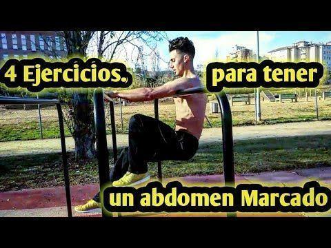 4 Ejercicios para tener un abdomen Marcado | Ridu Ratbi El Chico Fitness