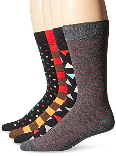 Happy Socks Men's Combed Cotton Socks Gift Box, Black/Grey Assorted, 10-13 (Pack of 4) Happy Socks http://www.amazon.com/dp/B014HIKZZA/ref=cm_sw_r_pi_dp_-Akxwb1FKQ866