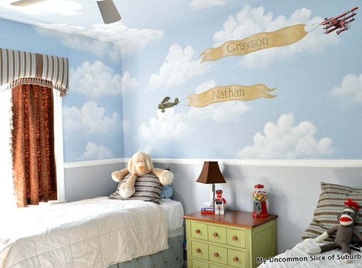 boys room updated with a fresh coat of Revere pewter by Benjamin Moore.Revere Pewter, Boys Bedrooms, Kids Room, Boy Rooms, Room Updates, Bedrooms Updates, Benjamin Moore, Boys Room, Fresh Coats