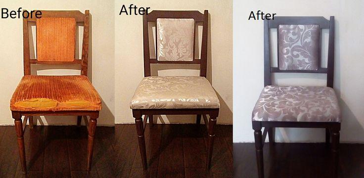 Реставрация старых стульев