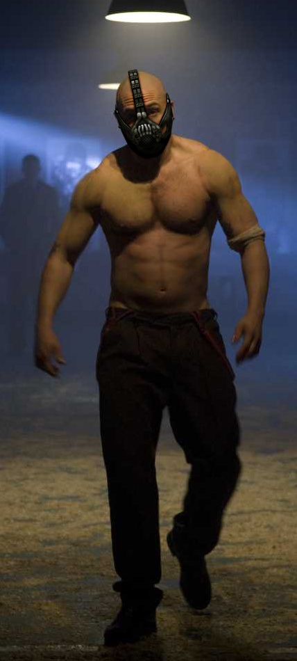 Tom Hardy's Bane.