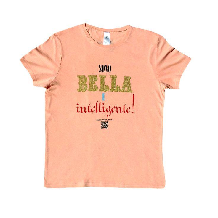 #magliette #pickabook - Emma - J. Austen -   Rosa, da ragazze. Scintillante come occhi innamorati, fresca di puro cotone, saggia come solo Jane Austen ha saputo essere nell'inventare le eroine dei suoi romanzi, e in queste parole che più che una frase, sono un mantra. Da ripetere tutte le mattine davanti allo specchio, non per convincersene ma per conoscersi e guardarsi un meglio. Magari dal punto di vista di una t-shirt.
