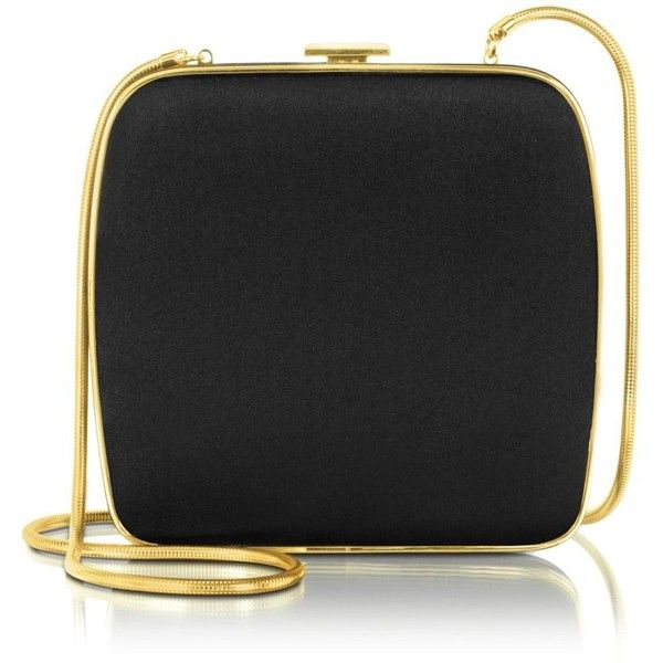 Ralph Lauren Collection Black Square Satin Clutch ($1,860) ❤ liked on Polyvore: Blue S Design, Evening Bags, Lauren Collection, Clutch 1 860, Fashion Accessories, Collection Black, Clutch 1 116, Polyvore Sets