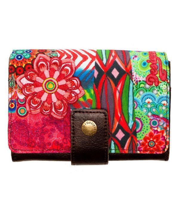 Look at this Desigual Red Lengueta Seducci Wallet on #zulily today!