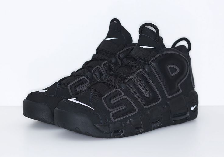 """After months of teaser shots, previews, and even an appearance during the NBA Slam Dunk contest in February, the Supreme x Nike Air More Uptempo AKA the """"Suptempo"""" finally has a release date. Supreme's custom version of the iconic '90s … Continue reading →"""