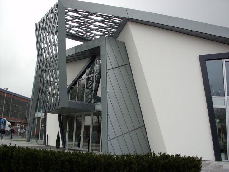 2765 best cepheler mimari z mler images on pinterest for Bauhaus oficinas centrales
