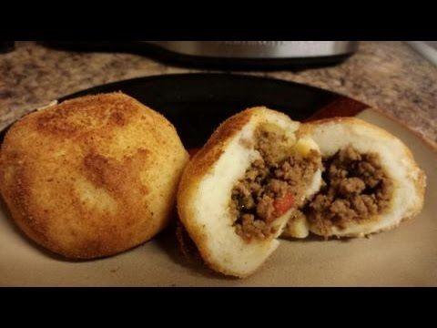 How to make Stuffed Potato Balls