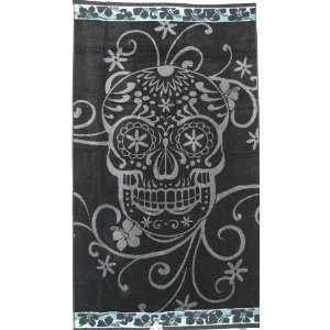 Oversized Beach Towel -SKULL