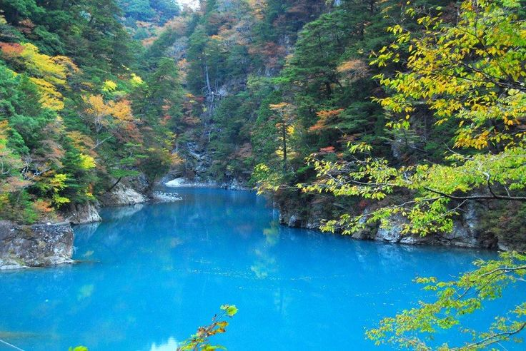 Japan)日本紅葉の名所100選】寸又峡(静岡県) (Autumn leaves, 단풍 ... http://blogs.c.yimg.jp/res/blog-a7-32.