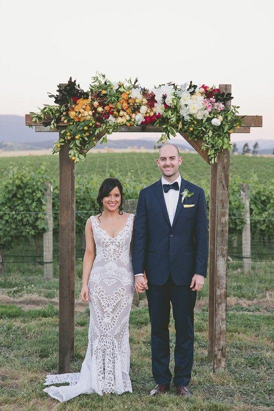 Megan & Josh's Flower Filled Winery Wedding
