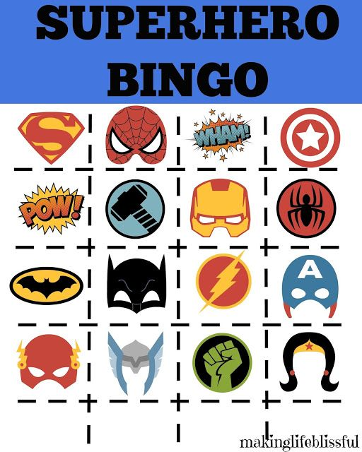 It's just an image of Delicate Superheroes Printables Free
