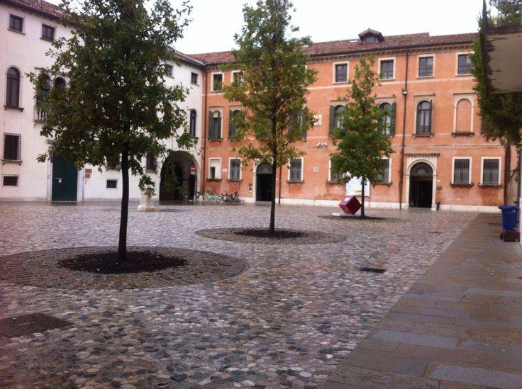 Treviso, Piazzetta Rinaldi   Trachyte   Square Floor