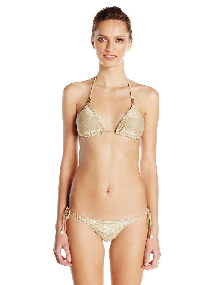 Pin for Later: Bella Hadid Brought a Really Great Bikini Home For the Holidays  OndadeMar Triangle Bikini Top ($95) and Bottom ($78)