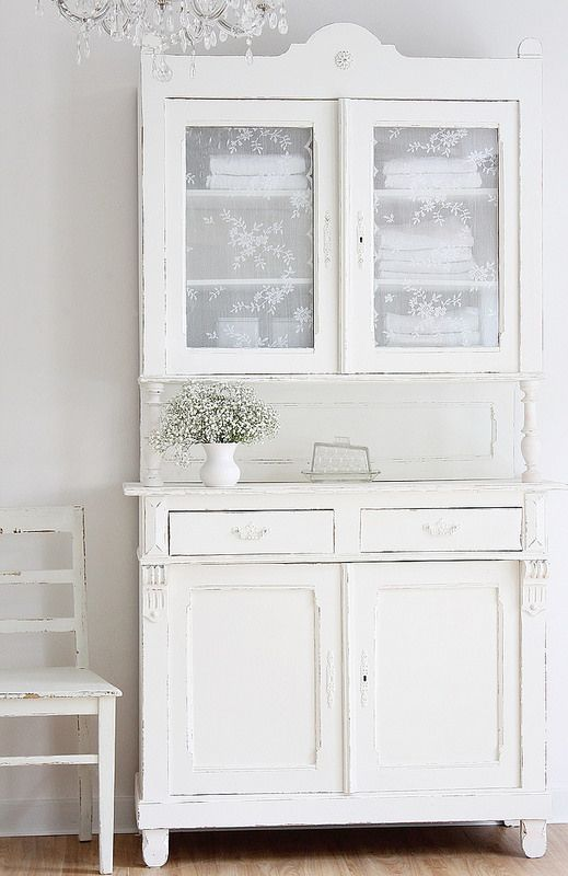 Not necessarily the color but I love this type of piece of furniture
