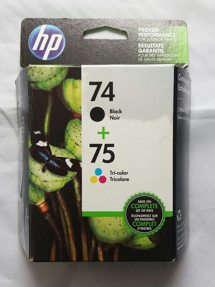 HP 74/75 Black and Tri-Color Printer Ink Cartridge - New Sealed Combo Pack | Computers/Tablets & Networking, Printers, Scanners & Supplies, Printer Ink, Toner & Paper | eBay!