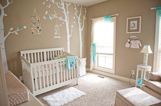 Baby's room - cute walls