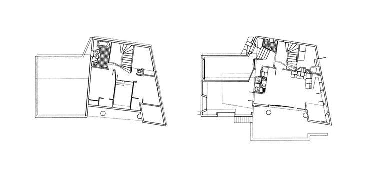 "elarafritzenwalden: "" Dr. Haegler House Salums, Laax, Graubünden, Switzerland; 1968-69 Rudolf Olgiati ""see map "" """