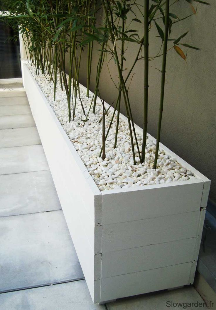 Bacs plantes bois sur mesure marseille garden for Terrasse amenagement plantes