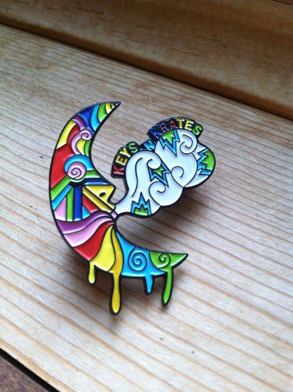 Keys N Krates Pin by TrippyHippieDesigns on Etsy, $13.00