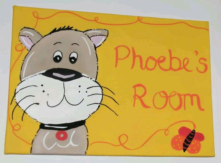 Kids bedroom door name sign cat design can be painted any colours www ebay. 141 best Childrens Door Signs   plaques images on Pinterest