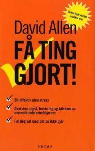 http://www.adlibris.com/no/product.aspx?isbn=8280871209 | Tittel: Få ting gjort; kunsten å være produktiv uten å stresse - Forfatter: David Allen - ISBN: 8280871209 - Vår pris: 283,-