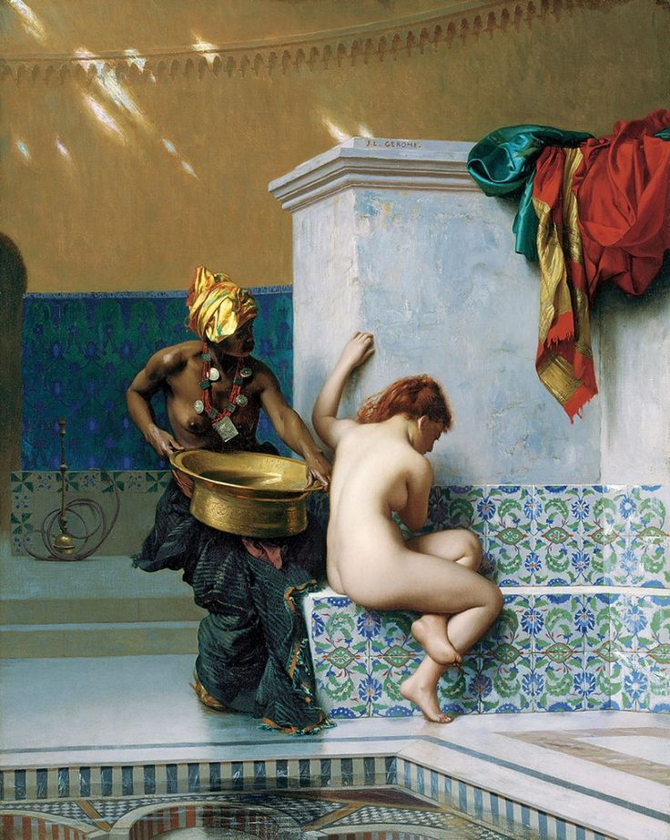 Bain Turc (Bain Maure), 1870, Jean-Léon Gérôme