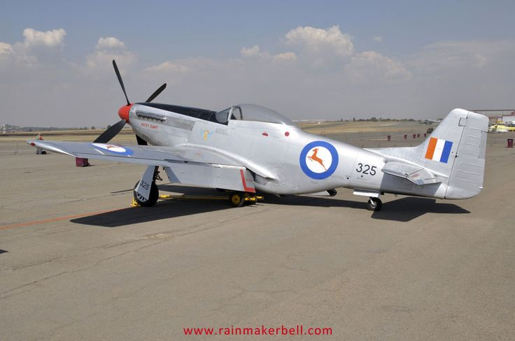 South African Air Force P-51D Mustang Patsy Dawn
