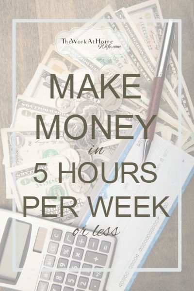 Some great opportunities to make extra money in your spare time