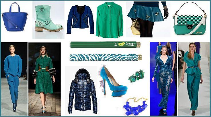 elektroninė cigaretė,mada, žalia ir mėlyna spalva,