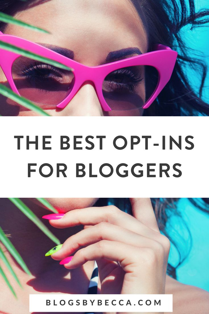 The Best Opt-ins for Bloggers! See the best email list opt-ins compared so that you can grow your blog's email list! Click through to see them all! #blog, #blogging, #blogtips