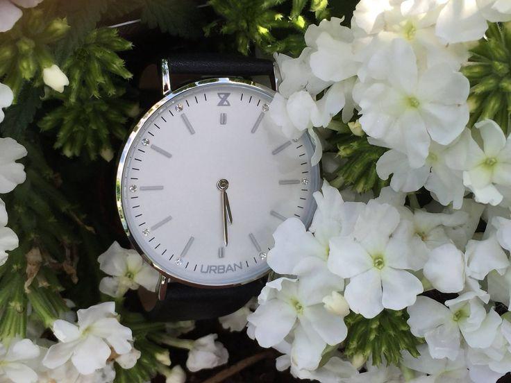 orologio vintage donna con cinturino in cuoio
