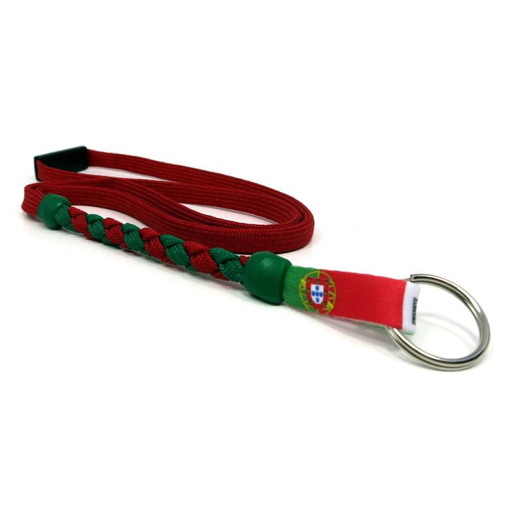 Portugal Soccer Nations Lanyard by Swannys