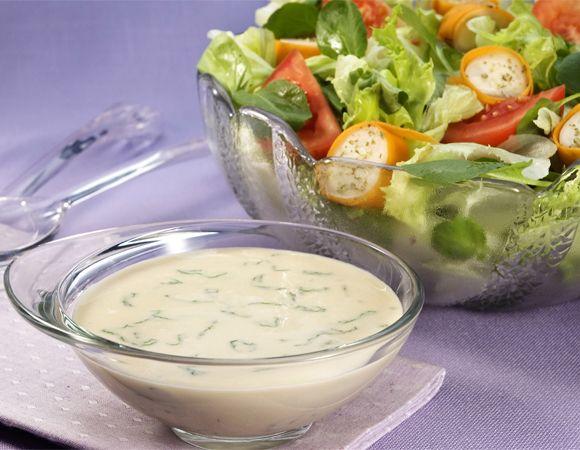 Salada saborosa para entrar em forma