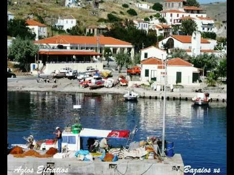 Agios Efstratios, a small island in the North Aegean, ideal for calm holidays amid unspoiled nature
