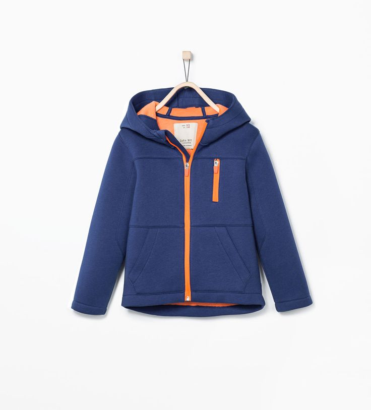 ZARA - KIDS - Hooded jacket with pocket