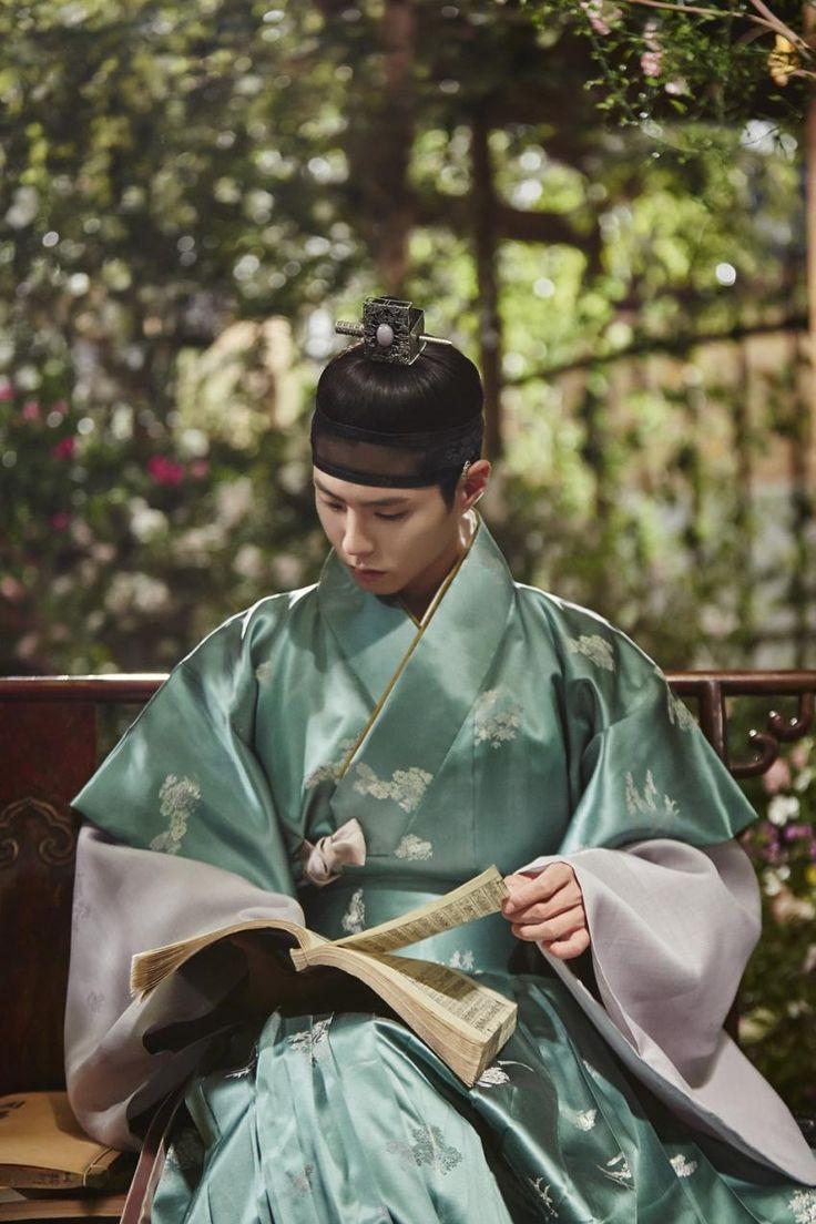 한복 Hanbok : Korean traditional clothes[dress] #Kdrama #구르미그린달빛 #박보검