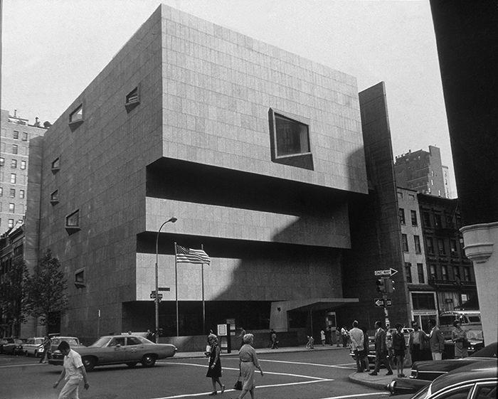 Whitney Museum de Marcel Breuer à New York
