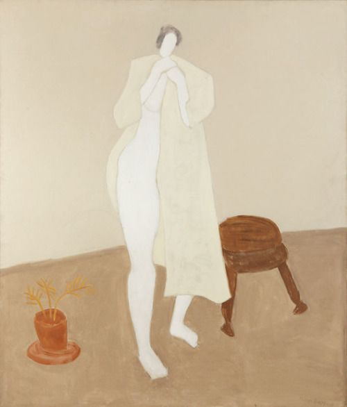 Robed Nude, Milton Avery 1960