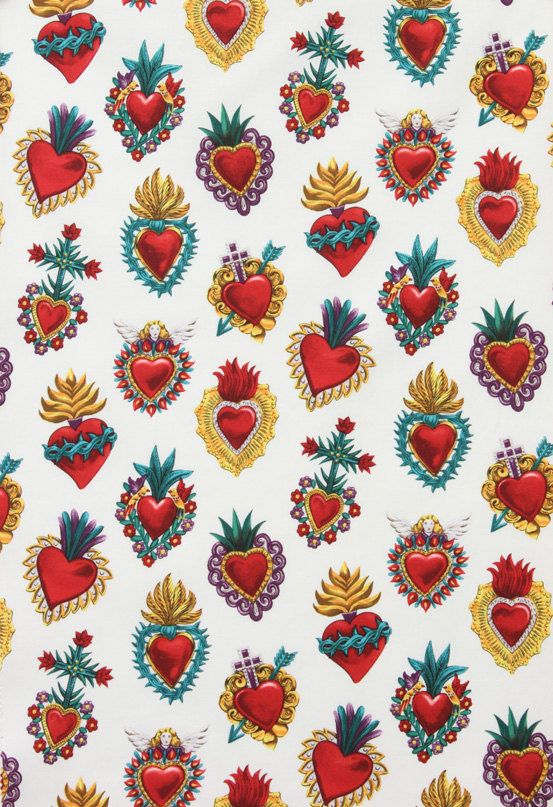 milagro/sacred heart fabric