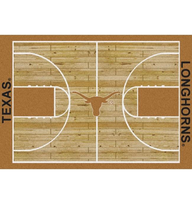 "Texas College Home Basketball Court Rug: 5'4""x7'8"