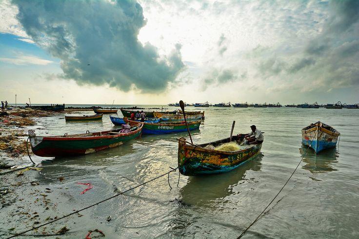 India - Tamil Nadu - Madurai - Rameshwaram - Seaside With Fishing Boats - 1 | by asienman