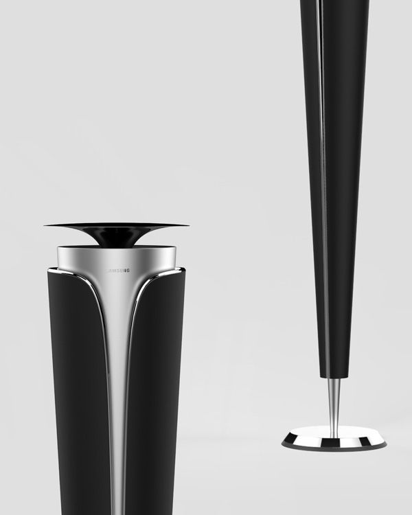 Samsung BUD U2013 Home Theatre Speakers Concept By Kyuho Song » Yanko Design